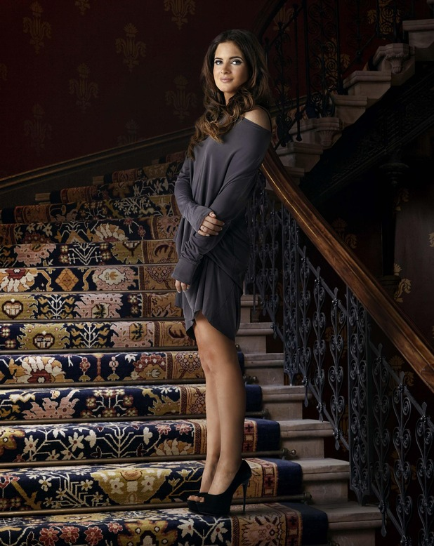 Binky Felstead - series nine Made In Chelsea press shot. April 2015.