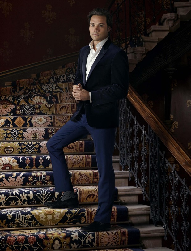 Andy Jordan - series nine Made In Chelsea press shot. April 2015.