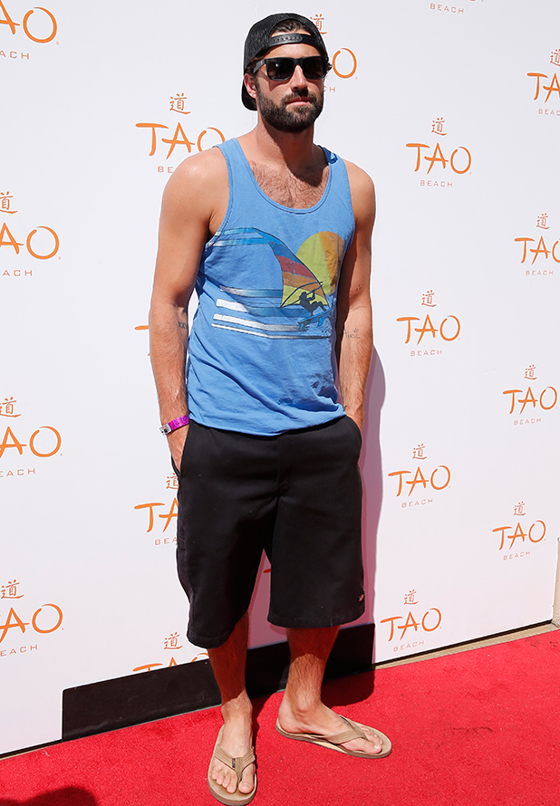 Brody Jenner hosts the Tao Beach Season Preview, 4 April 2015