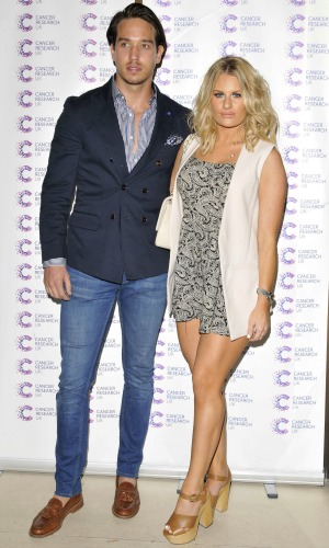 James Ingham's Jog on to Cancer Event, London, Britain - 09 Apr 2015 James Lock and Danielle Armstrong