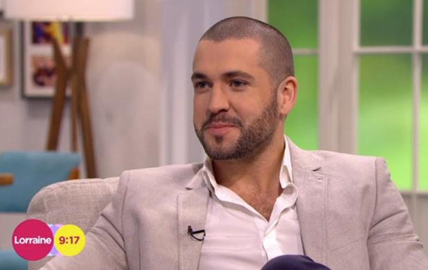 Shayne Ward on ITV's Lorraine, 9 April 2015