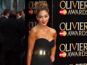 Nicole Scherzinger at The Olivier Awards held at the Royal Opera House - Arrivals 04/12/2015 London, United Kingdom