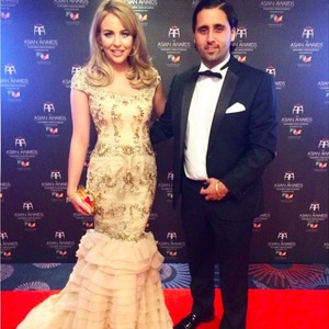 TOWIE's Lydia Bright attends The Asian Awards with cousin Liam Blackwell, 17 April 2015