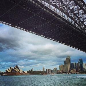 Stevie Johnson, Australia view, Instagram 8 April