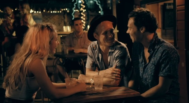 Jamie Laing, Jess Woodley and Andy Jordan on Made In Chelsea, Series 9, Episode 1 13 April