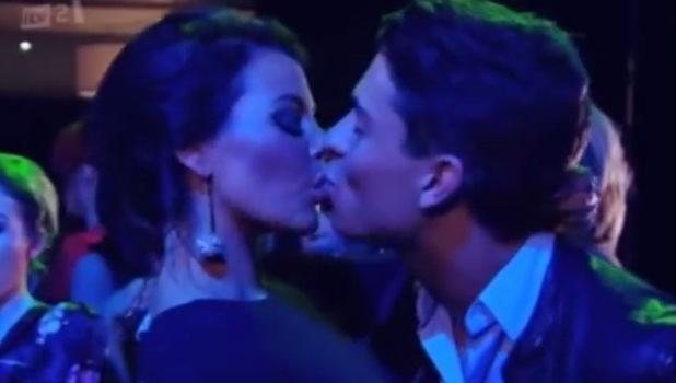 TOWIE: Jessica Wright's kiss with Joey Essex during the series three finale - 2011.