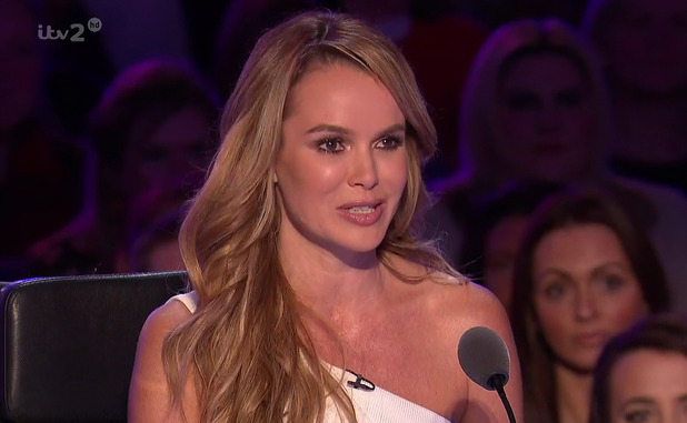 Amanda Holden on Britain's Got More Talent, Broadcast on ITV2 HD - 13 April 2015.
