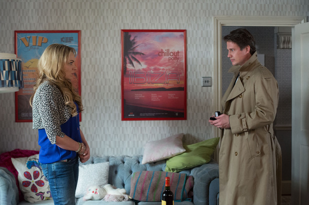 EastEnders, Aleks proposes to Roxy, Tue 14 Apr
