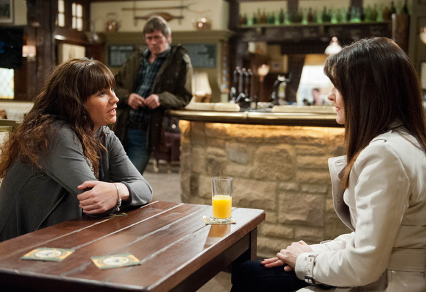 Emmerdale, will Emma tell Chas? Wed 15 Apr
