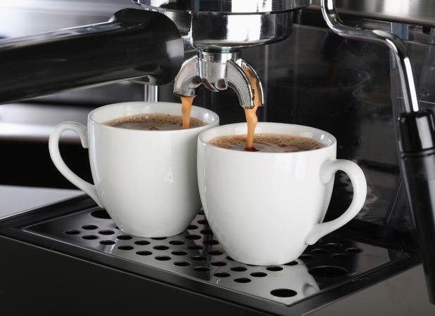 space espresso machine