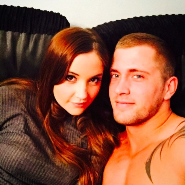 Dan Osborne and Jacqueline Jossa look loved-up on date night, 18 April 2015