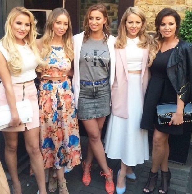 Lauren Pope, Lydia Bright, Jessica Wright, Georgia Kousoulou and Ferne McCann at In The Style collection launch, Instagram 15 April