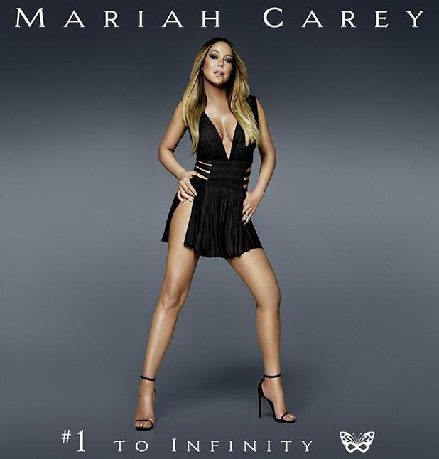 Mariah Carey unveils artwork for new album, #1 To Infinity - 12 April 2015.