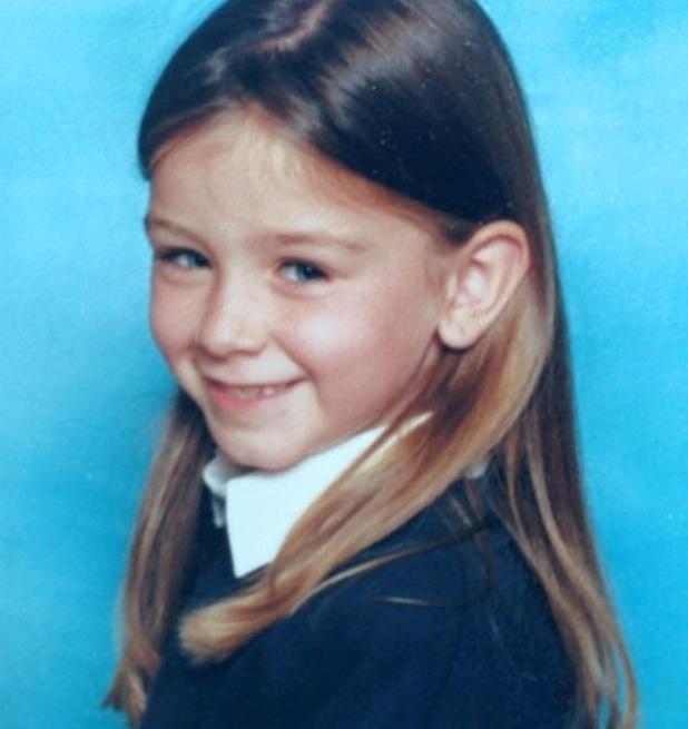 Brooke Vincent shares childhood throwback photo - 16 April 2015.