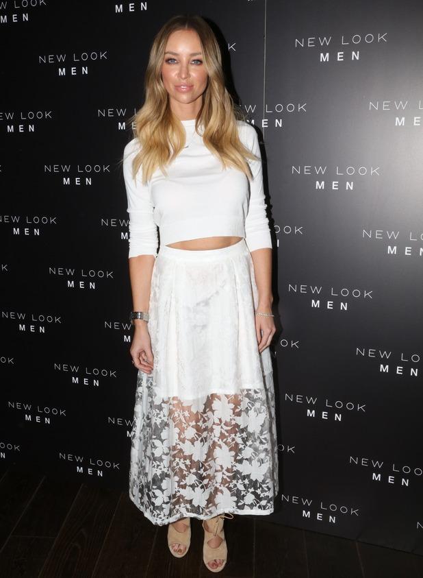 Lauren Pope attends New Look Men Wireless party, London 14 April