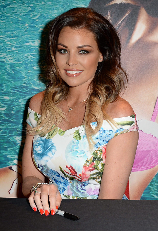 TOWIE star Jessica Wright at her Ann Summers swimwear launch, 19 April 2015