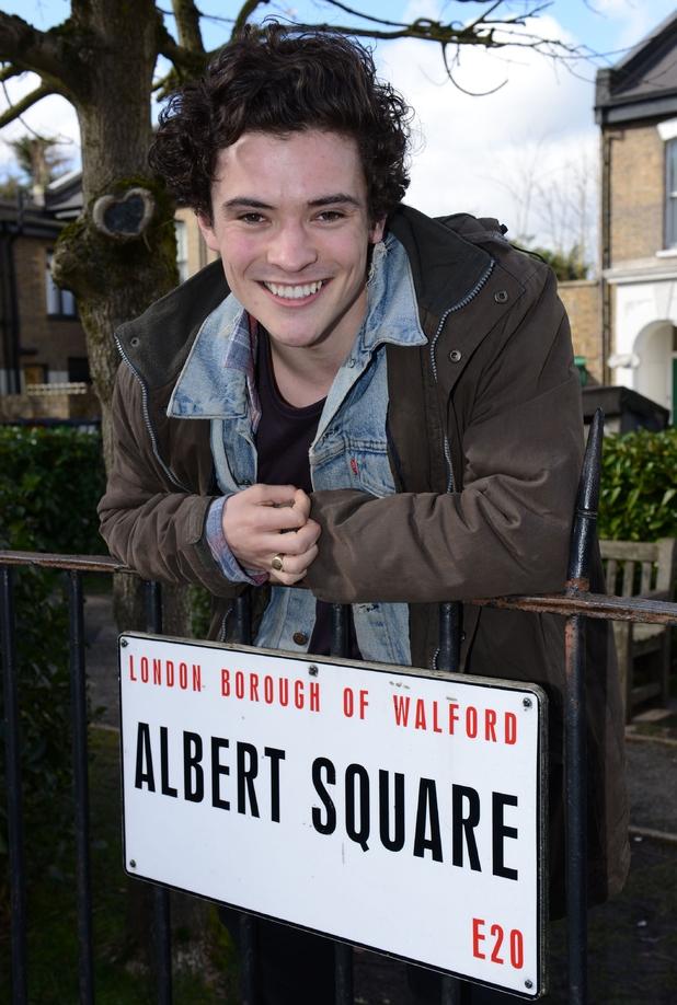 EastEnders announce new cast member: Jonny Labey joins as Paul Coker - 16 April 2015.