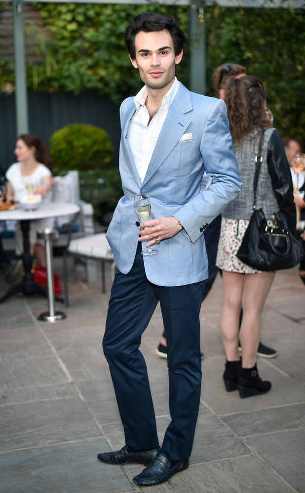 Mark Francis at The Ivy Chelsea Garden Launch Party, London, Britain - 14 Apr 2015