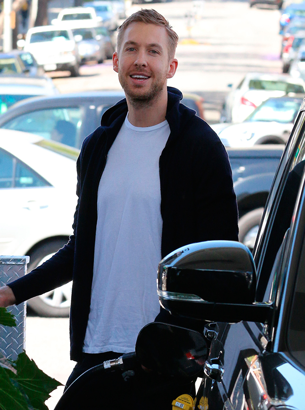 Calvin Harris goes shopping in Hollywood, 13 April 2015