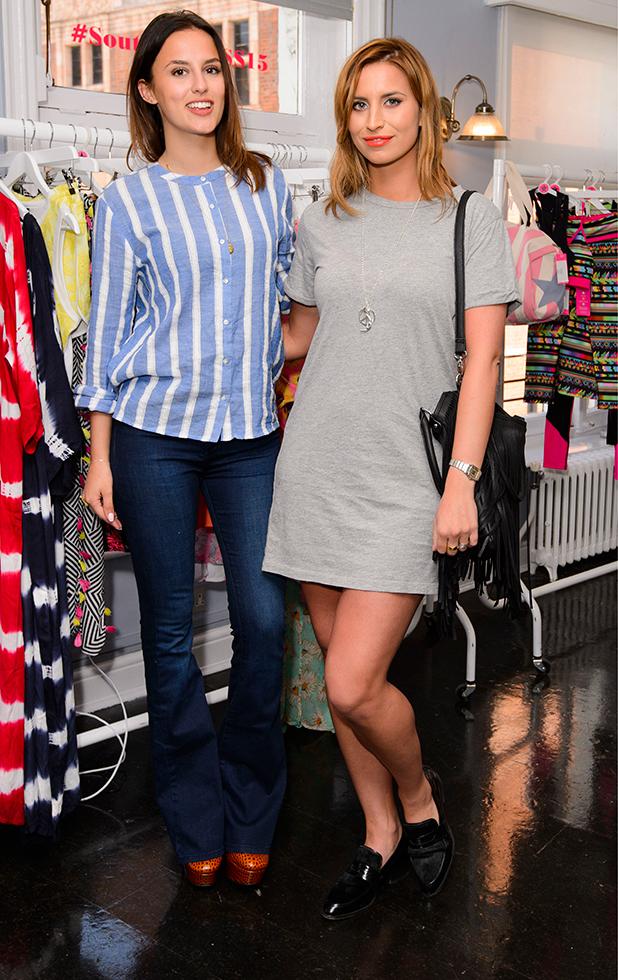 South Beach fashion launch, London, Britain - 15 Apr 2015 Ferne McCann and Lucy Watson
