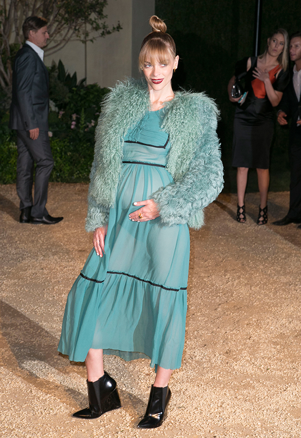 Jaime King attends the Burberry 'London in Los Angeles' event at Griffith Observatory. 16 April 2015