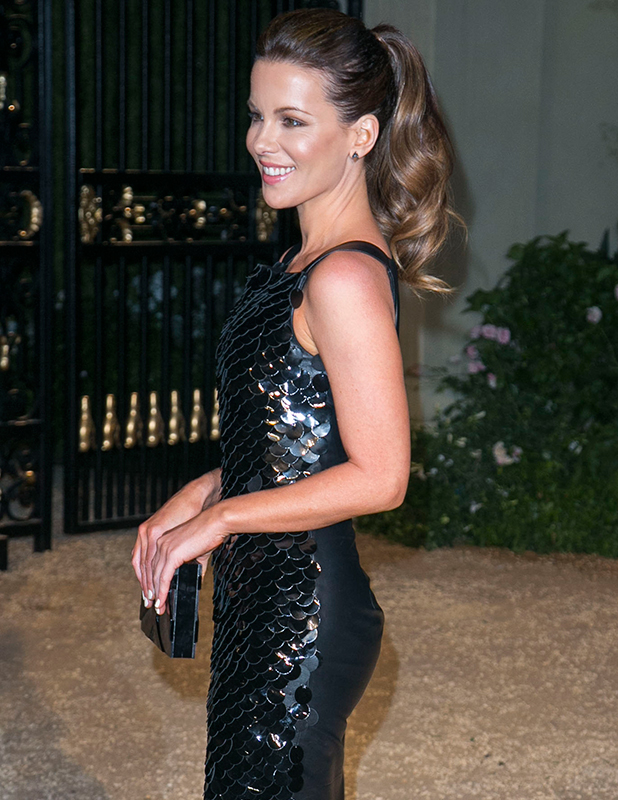 Kate Beckinsale attends the Burberry 'London in Los Angeles' event at Griffith Observatory. 16 April 2015