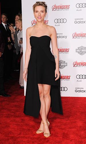 Scarlett Johansson, Los Angeles premiere of Marvel's 'Avengers: Age Of Ultron' 13 April 2015