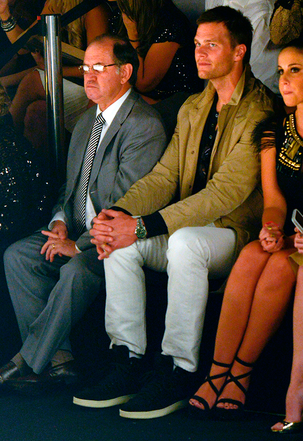Tom Brady attends the Colcci show at SPFW Summer 2016 at Parque Candido Portinari on April 15, 2015 in Sao Paulo, Brazil. (