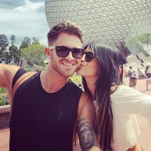 Jasmin Walia and Ross Worswick, Disney World, Florida 20 April