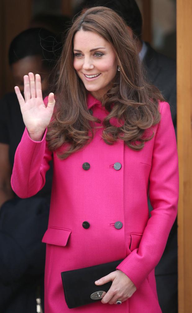 Kate Middleton, Duchess of Cambridge 22 april