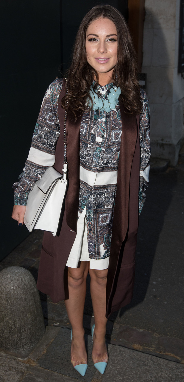 Louise Thompson at the Oasis Victoria and Albert Museum Launch 20 april
