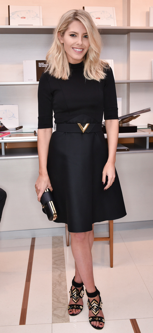 The Saturday's Molly King at Louis Vuitton art launch 23 april