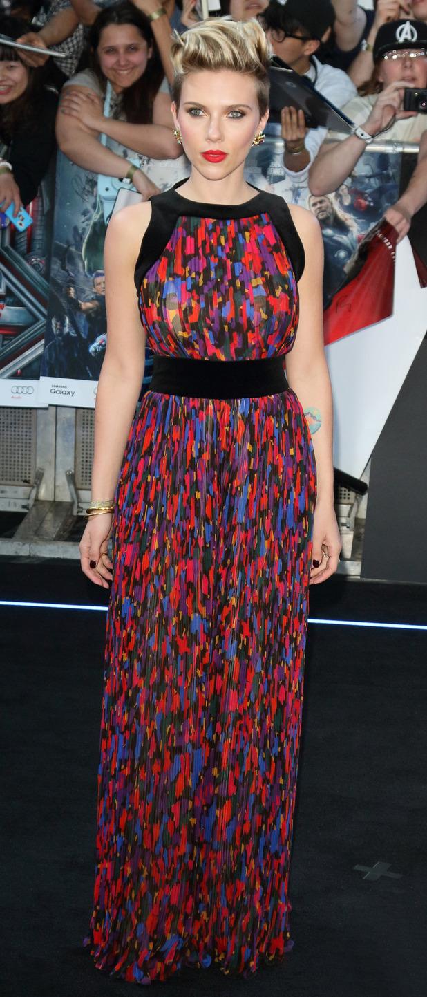 Scarlett Johansson at the Avengers: Age of Ultron Premiere 21 april