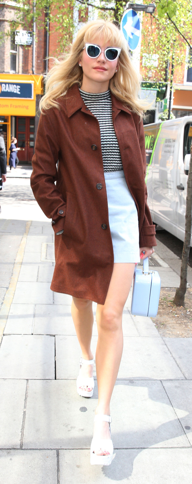 Pixie Lott out and about in London 20th April 2015