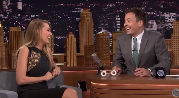 Blake Lively on The Tonight Show with Jimmy Fallon 21 April