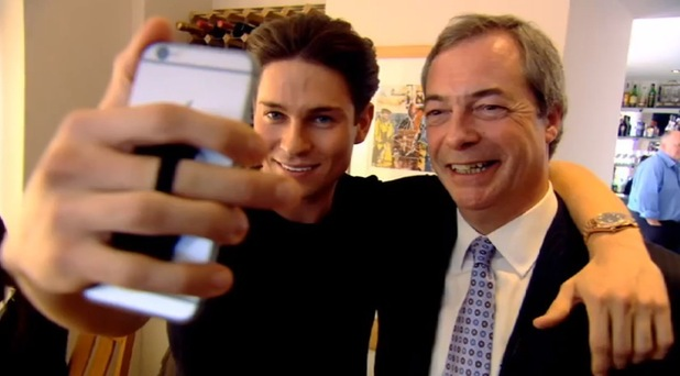 Joey Essex and Nigel Farage, Educating Joey Essex: General Election, What Are You Saying?, ITV2 5 May