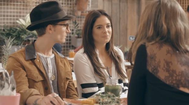 Binky Felstead and Lauren Hutton, Made In Chelsea, Series 9, Episode 2 20 April