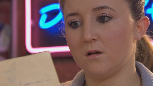 Hollyoaks, Esther finds Kim's letters, Thu 23 Apr
