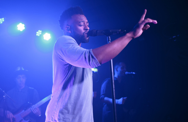Oritse Williams aka OWS performs live in London - 21 April 2015.