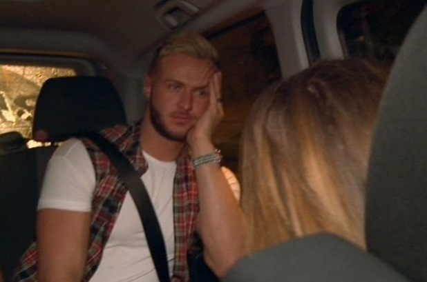 Kyle Christie and Holly Hagan Geordie Shore, Episode 3, Series 10, MTV 21 April