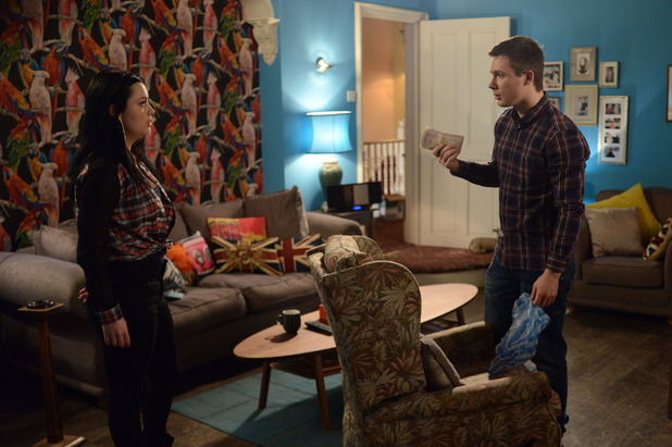 EastEnders, Lee and Whitney find money, Tue 28 Apr