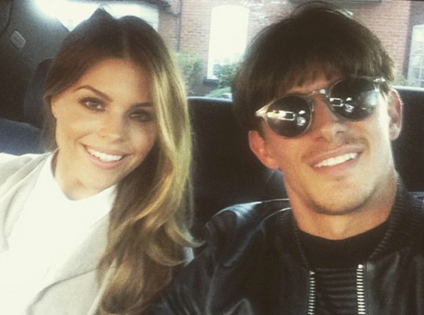 Chloe Lewis and Jake Hall at TOWIE wrap party, 22 April 2015