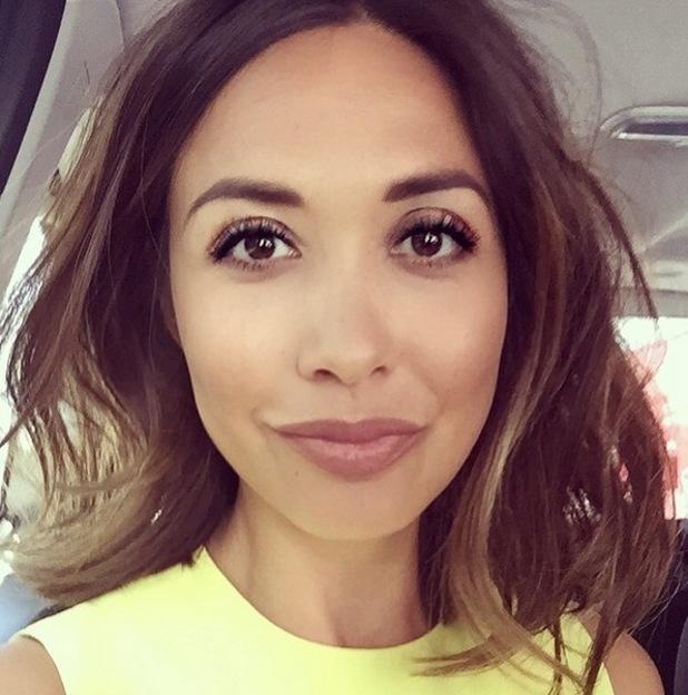 Myleene Klass selfie, Instagram 24 April