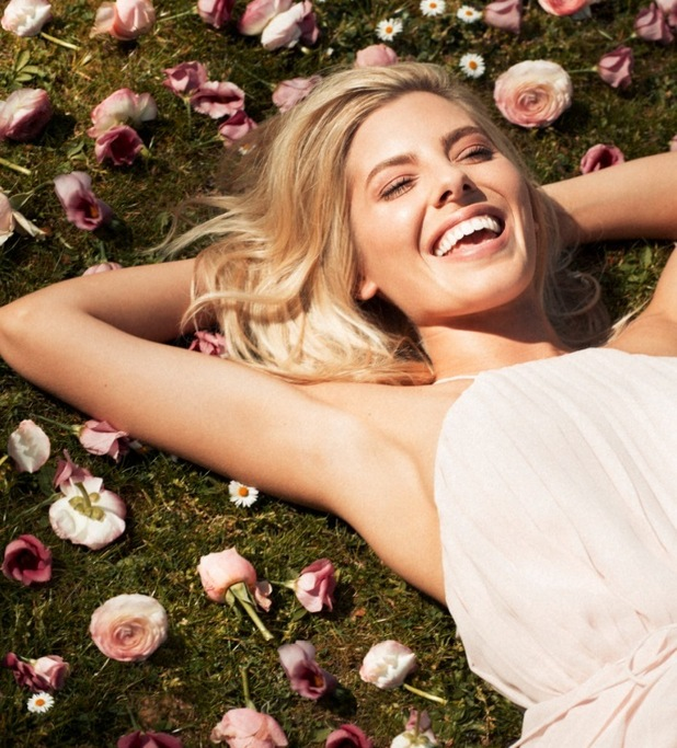 Mollie King, Magnum Pink and Black campaign 21 April
