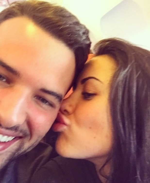 Ricky Rayment and Marnie Simpson on flight to Lanzarote, Instagram 10 April