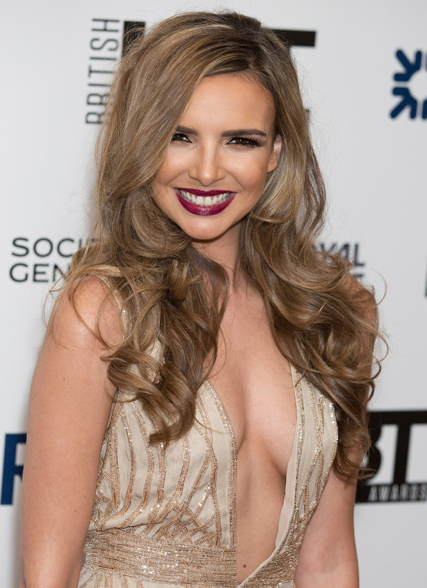 Nadine Coyle attends the British LGBT Awards at the Landmark Hotel, London - 24 April 2015