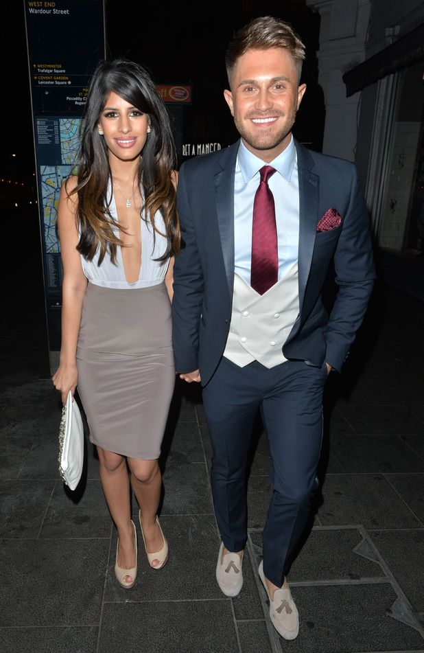 Jasmin Walia and Ross Worswick out in London 18 April