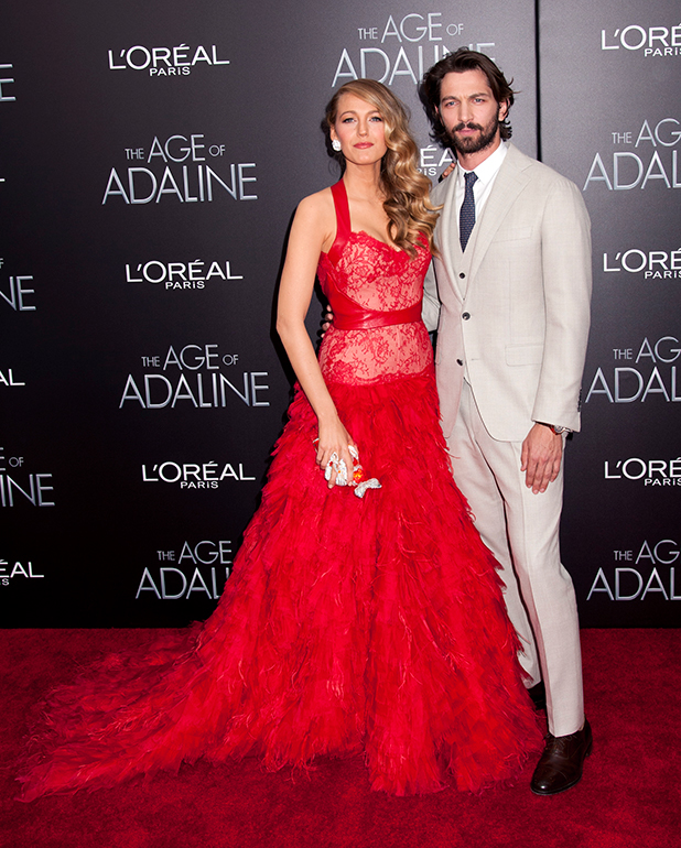 Blake Lively, Michiel Huisman at New York premiere of 'The Age of Adaline' at AMC Loews Lincoln Square 13 theater, 19 April 2015