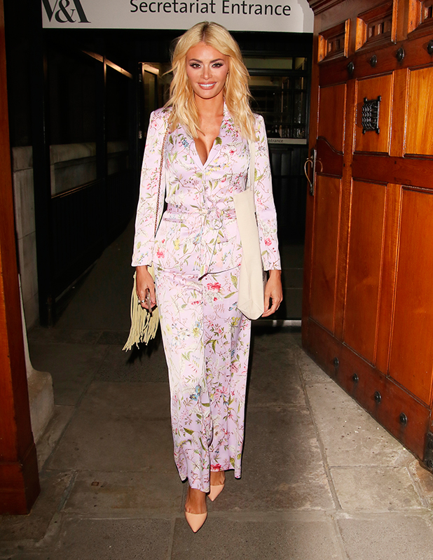 Chloe Sims, Oasis and Victoria & Albert Museum collection launch party, 20 April 2015