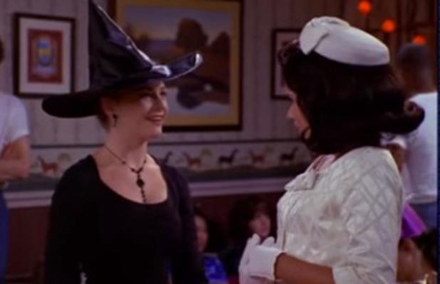 Sabrina The Teenage Witch, Libby and Sabrina.